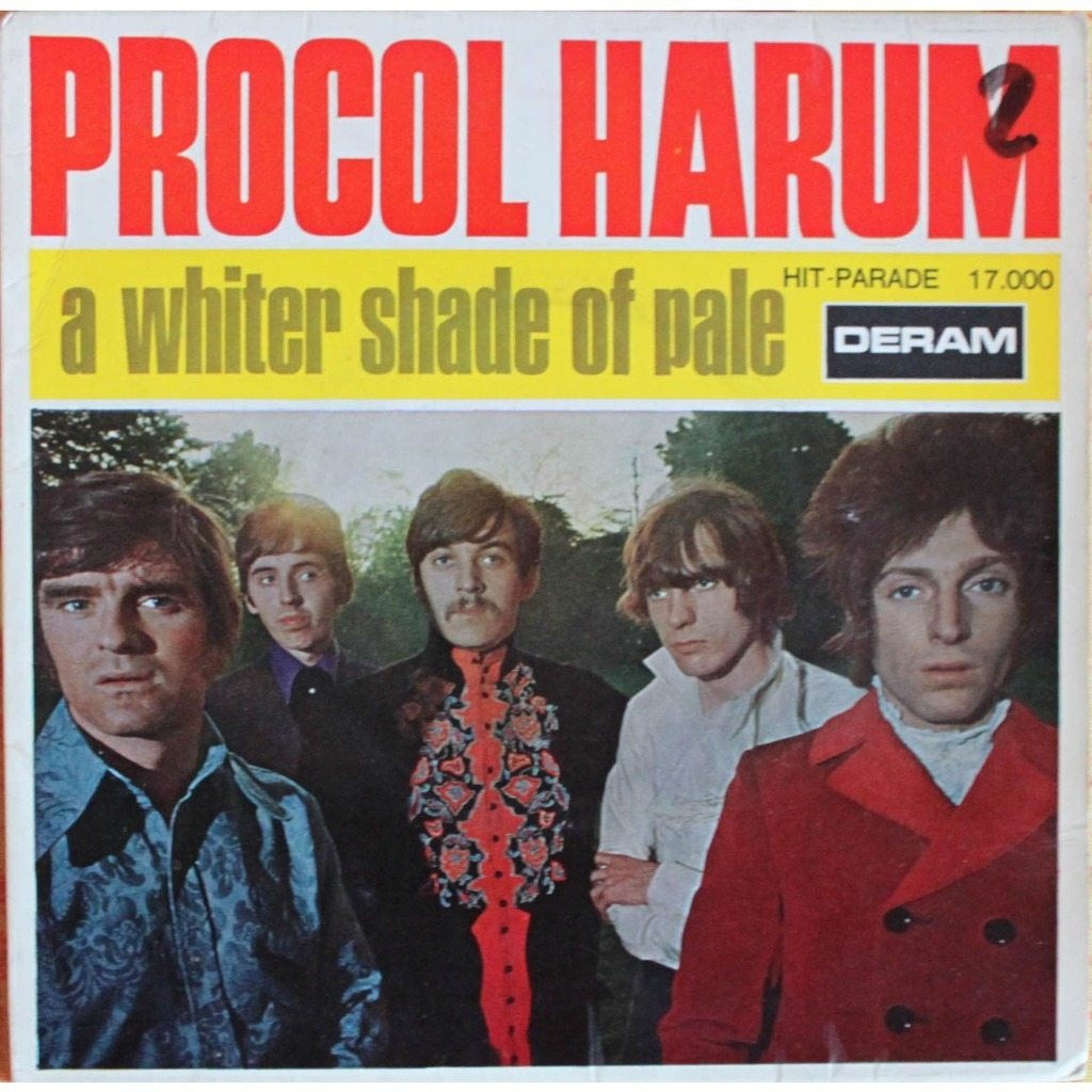 Procol Harum A Whiter Shade Of Pale 1967 New Music
