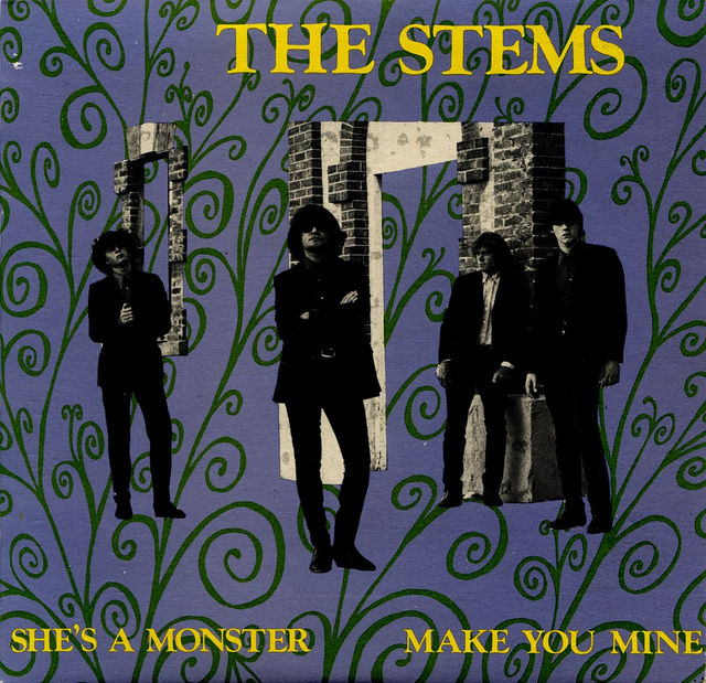 The Stems - She's A Monster - Cover A