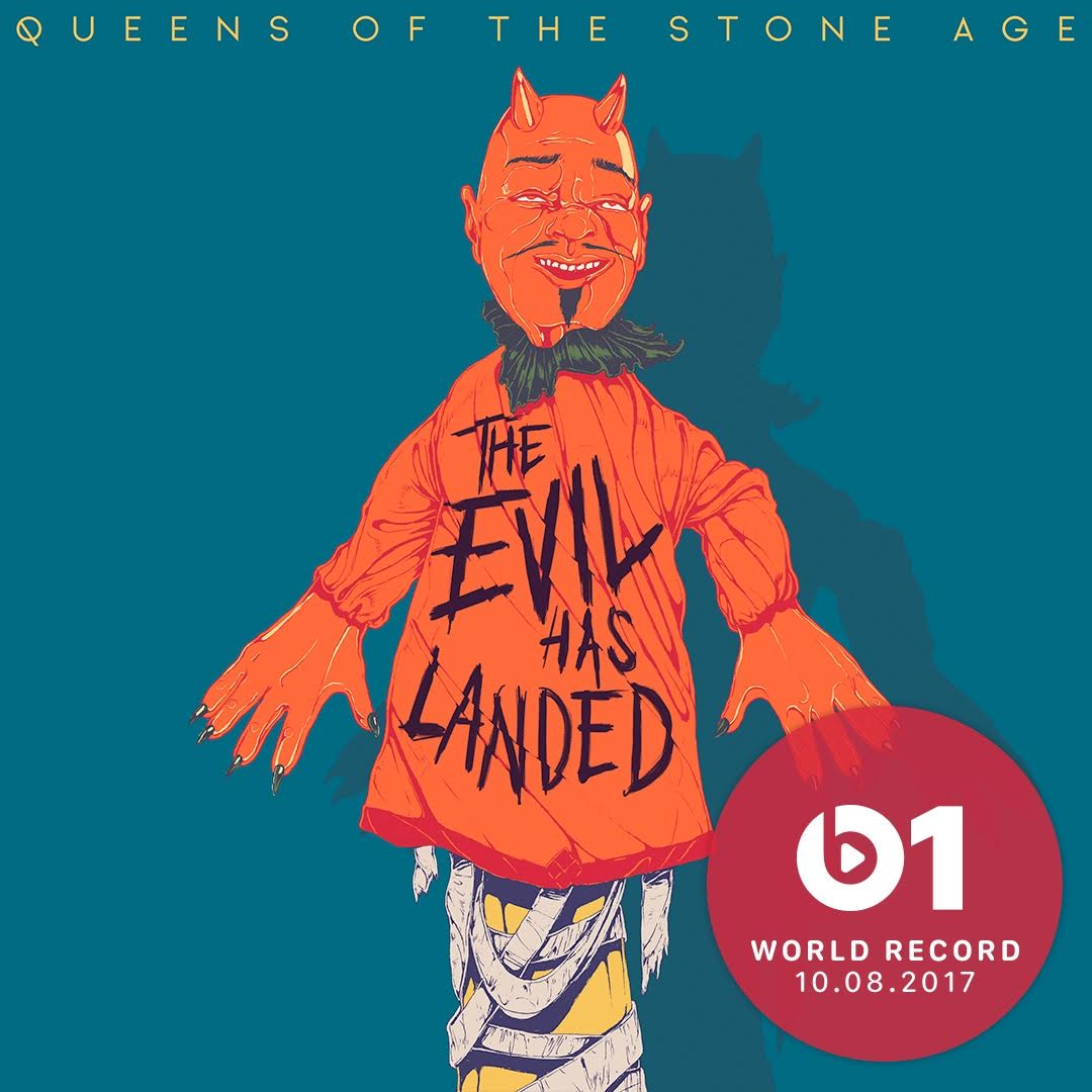 Queens of the Stone Age – The Evil Has Landed (2017)
