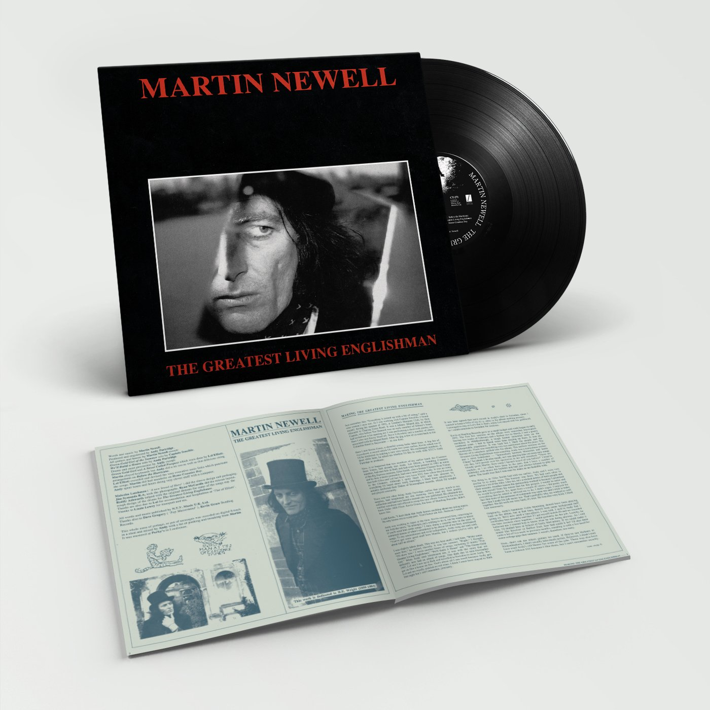Martin Newell – Goodbye Dreaming Fields + The Greatest Living Englishman (1993)